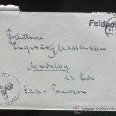 Sellos: A CARTA DEL 3º REICH, FELDPOST. Lote 25158171