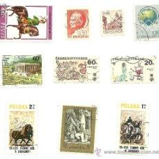 Sellos: LOTE DE 29 SELLOS DE URSS, POLONIA Y OTROS.. Lote 23249845