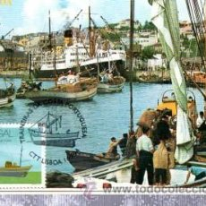 Sellos: TARJETA POSTAL LISBOA RIBEREÑA, PORTUGAL, MATASELLOS EN TARJETA. Lote 32994160