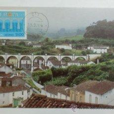 Sellos: TARJETA POSTAL. PORTUGAL. MATASELLOS DEL NORDESTE. 1984. EUROPA CEPT. AZORES. . Lote 33426314