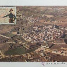 Sellos: TARJETA POSTAL. PORTUGAL. MATASELLOS ALMEIDA. 1998. VISTA AEREA ALMEIDA.. Lote 33440757