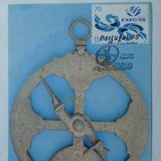 Sellos: TARJETA POSTAL. PORTUGAL. MATASELLOS EXPO 1998. LISBOA.. Lote 33442558