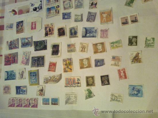 LOTE DE MÁS DE 30 SELLOS DE VARIOS PAÍSES AÑOS 70 Y 80. (Sellos - Historia Postal - Sellos otros paises)