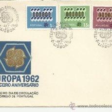 Sellos: PORTUGAL LISBOA SPD EUROPA CEPT 1962. Lote 35673963