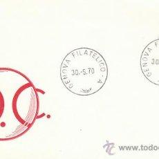 Sellos: ITALIA IVERT 1049, 6º CENTENARIO DEL CONDOTIERI ERASMO DE NARNI, EL GATTAMELATA PRIMER DIA 30-5-1970. Lote 36048781