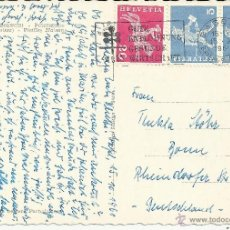 Sellos: SUIZA TP BASEL LACEL 1961. Lote 39699891