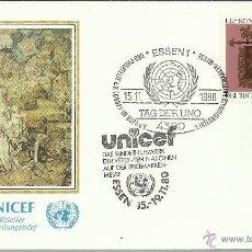 Sellos: ALEMANIA ONU ESSEN UNICEF . Lote 46079822
