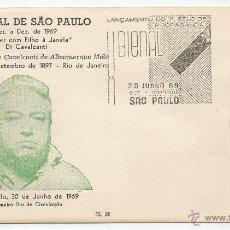 Sellos: SOBRE PRIMER DIA - BRASIL. Lote 50325615