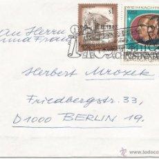 Francobolli: AUSTRIA NAVIDAD CHRISTKINDL 1987. Lote 51421823