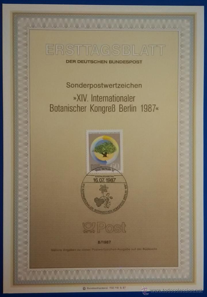 Sellos: 13 tarjetas primer día de circulación sellos de ALEMANIA - Foto 2 - 51683871