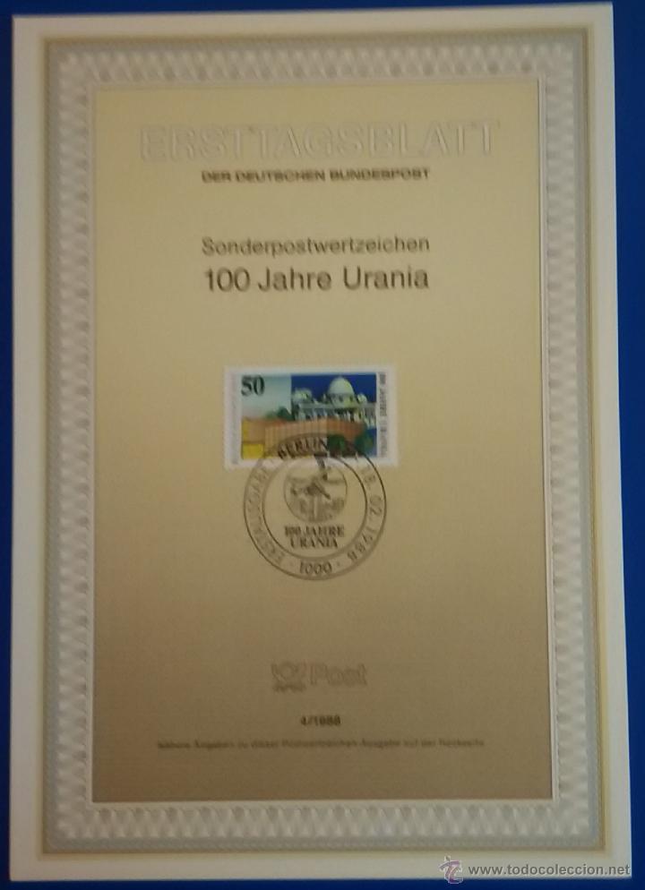 Sellos: 13 tarjetas primer día de circulación sellos de ALEMANIA - Foto 8 - 51683871