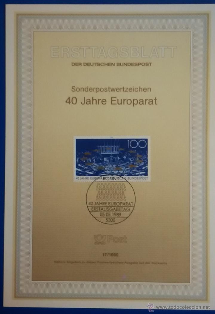Sellos: 13 tarjetas primer día de circulación sellos de ALEMANIA - Foto 11 - 51683871