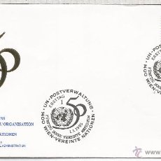 Sellos: ONU NACIONES UNIDAS FDC SPD 50 ANIVERSARIO . Lote 53955527