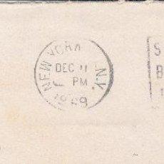 Sellos: ESTADOS UNIDOS. SOBRE COMPLETO CIRCULADO A ESPAÑA CON MATº NEW YORK 1969. . Lote 54491217