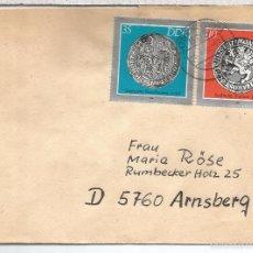Selos: ALEMANIA DDR CC LOBENSTEIN SELLO MONEDA COIN NUMISMATICA. Lote 55955116