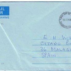 Sellos: SOBRE PRIMER DÍA SOLOMON ISLANDS 30-01-1984. Lote 56749357