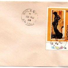 Sellos: SOBRE CIRCULADO ANTIGUA. 19-08-1980. Lote 56940628