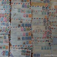 Sellos: GRAN LOTE DE 174 SOBRES CIRCULADOS DE GUATEMALA A EE.UU. VIA AEREA. AÑOS 1930 - 50.. Lote 57035251