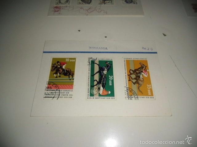CAJA-2 SELLOS DE ALEMANIA LOS DE FOTO (Sellos - Historia Postal - Sellos otros paises)