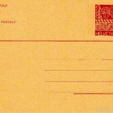 Sellos: SUIZA. ENTERO POSTAL SIN CIRCULAR. FLORA.. Lote 57893861