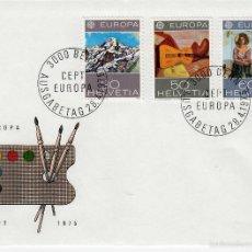 Sellos: SUIZA. YVERT 980/82. SPD 28.4.1976. EUROPA CEPT. PINTURA.. Lote 57893906