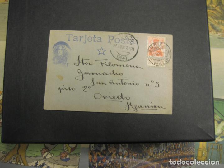 ESPERANTO. TARJETA POSTAL. AÑO 1912 (Sellos - Historia Postal - Sellos otros paises)
