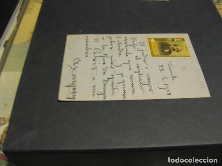 Sellos: Esperanto. Tarjeta postal. Año 1912 - Foto 2 - 72210387