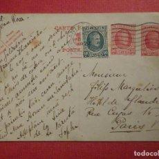 Sellos: ENTERO POSTAL BÉLGICA - 1927 - ESCRITA. Lote 75084351