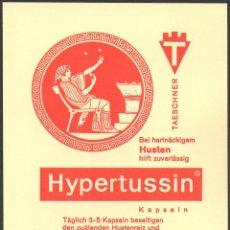 Sellos: 1 BERLIN 12 100 JAHRE LETFE-VEREIN 1-3-1966 - HYPERTUSSIN - MATASELLOS ESPECIAL. Lote 75697819