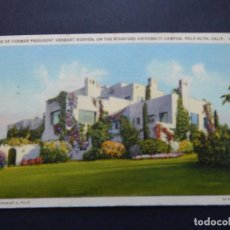 Sellos: HOME OF FORMER PRESIDENT HERBERT HOOVER, ON THE STANFORD UNIVERSITY CAMPUS, PALO ALTO. Lote 79878717