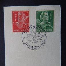 Sellos: INNSBRUCK 17.7.1944 7. LANDESSCHIESSEN - GROSSDEUTSCHES REICH RAD. Lote 79906437
