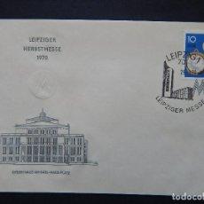 Sellos: LEIPZIGER HERBSTMESSE 1970. OPERNHAUS AM KARL-MARX-PLATZ - LEIPZIG 25.8.1970 - LEIPZIGER MESSE. Lote 80165293
