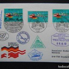 Sellos: SOBRE. AUSTRIA, ALEMANIA Y SUIZA - EREGIO BODENSEE. MAYO 1993 - Nº 14965. Lote 81791724