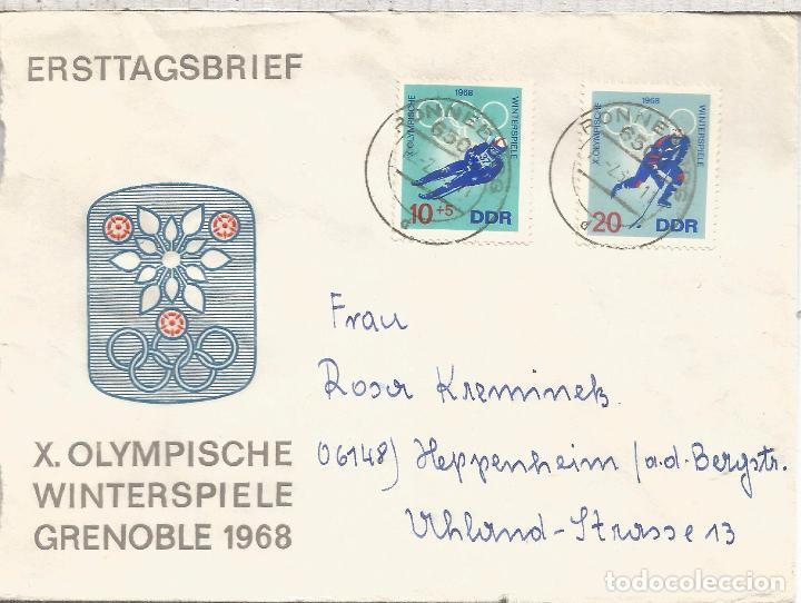 Alemania Ddr Sellos Juegos Olimpicos Invierno G Comprar Historia