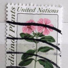 Sellos: NACIONES UNIDAS, 1 SELLO USADO . Lote 95887851