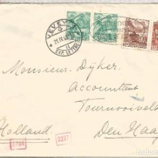 Sellos: SUIZA VEVEY 1943 CC A DEN HAAG HOLANDA CENSURA MILITAR ALEMANA. Lote 95934855