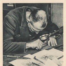 Sellos: FRANCIA, DECARIS, GRABADOR DE SELLOS GRABANDO CON UN PUNZÓN, MATASELLO DE 24-3-1968. Lote 98483475