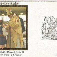 AUSTRALIA BRISBANE MAT VISITA PAPA POPE JUAN PABLO II RELIGION