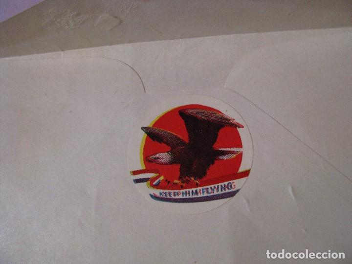 Sellos: SOBRE DE CORREO ESTADOS UNIDOS CON CARICATURA DE MR. SCHICKELGRUBER ( HITLER ) 1944. - Foto 3 - 102095923