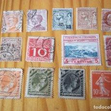 Sellos: SET SELLOS USADOS MONACO COLOMBIA AUSTRIA IRLANDIA LUXEMBOURG ITALIA FRANCIA. Lote 109149043