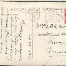 Sellos: REINO UNIDO 1932 TP MAT LONDON BRITISH INDUSTRIES FAIR . Lote 111803943