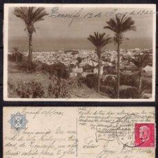 """Sellos: CANARIAS 1932 - S. S. ARAGONIA - ULTIMO VIAJE """"HSDG"""" VAPORES DE HAMBURGO. Lote 112137595"""