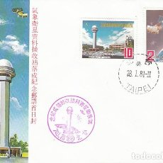 Sellos: CHINA SCOTT 2221/2, FINALIZACIÓN ESTACIÓN TERRESTRE DE SATÉLITES METEOROLOGICOS PRIMER DIA 28-1-1981. Lote 112551895