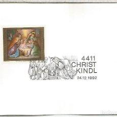 Francobolli: AUSTRIA CHRISTKINDL NAVIDAD CHRISTMAS 1992. Lote 118049271