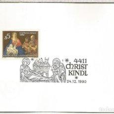 Francobolli: AUSTRIA CHRISTKINDL NAVIDAD CHRISTMAS 1990. Lote 118049651