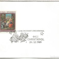 Francobolli: AUSTRIA CHRISTKINDL NAVIDAD CHRISTMAS 1989. Lote 118049847