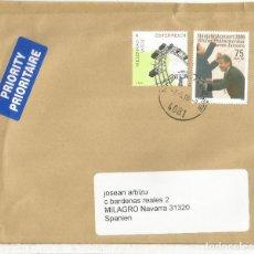 Sellos: AUSTRIA CC SELLOS NORIA WIEN MUSICA CONCIERTO AÑO NUEVO MERISS JANSONS. Lote 121648159