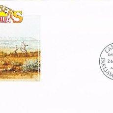 Sellos: AUSTRALIA, BURKE Y WILLS, EXPLORADORES, PRIMER DIA 26-9-1983. Lote 121991943