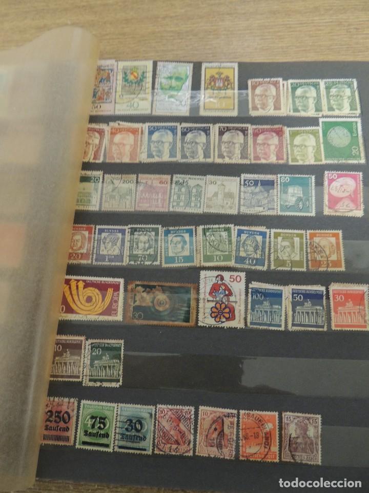 Sellos: MAS DE 1000 SELLOS USADOS EXTRANJERO EN CLASIFICADOR - Foto 14 - 155436736