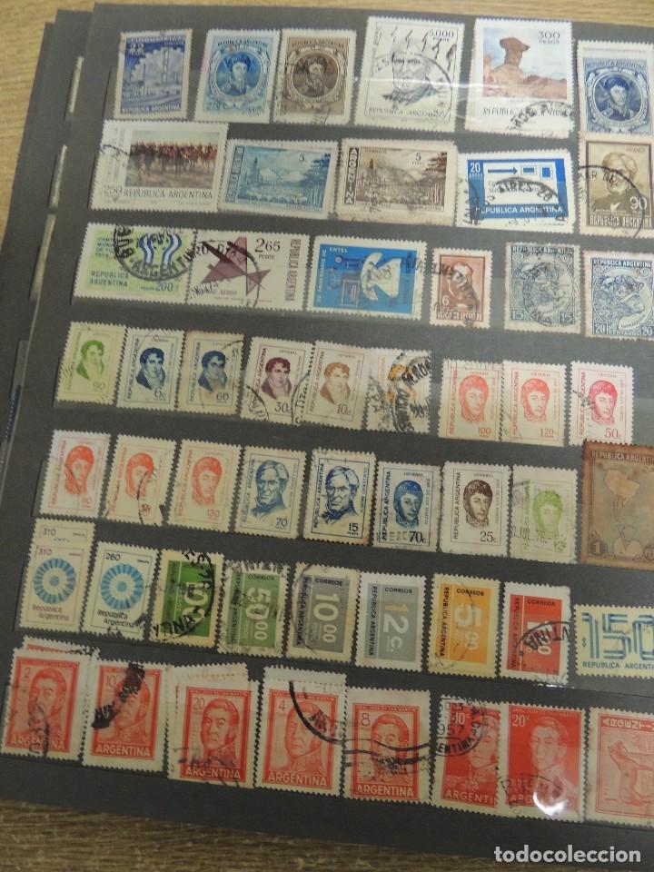 Sellos: MAS DE 1000 SELLOS USADOS EXTRANJERO EN CLASIFICADOR - Foto 21 - 155436736